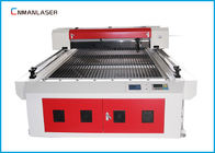 China Desktop 2mm CO2 Stainless Steel Metal Laser Cutting Machine 1325 With 150w RECI Tube factory
