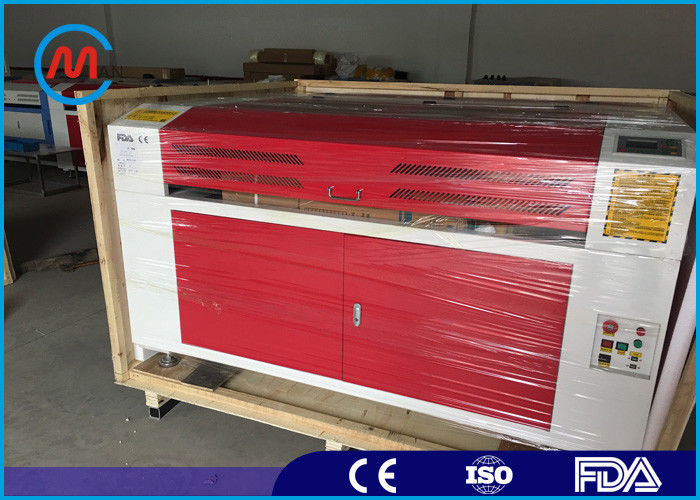 Servo Motor Industrial CO2 Laser Cutting Machine With RF Metal Laser Tube