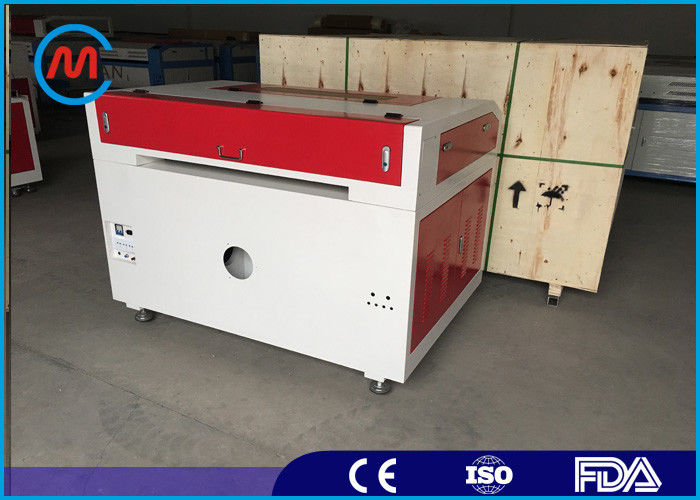 3mm CNC CO2 Laser Cutting Machine , RF Metal Tube Stainless Steel Laser Cutting Machine