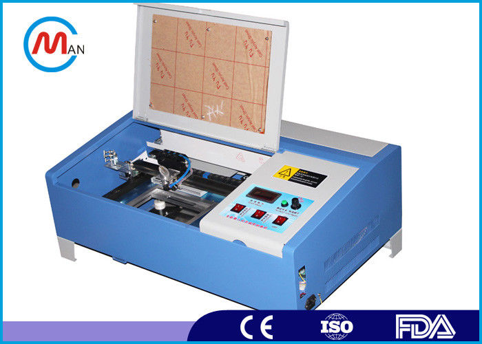 Industrial 40 Watt Co2 Mini Laser Cutting Machine For Acrylic Crytal Glass