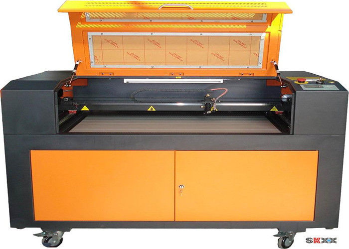 1390 100w Wood Laser Cutting Machine For Foam Leather Cake Topper