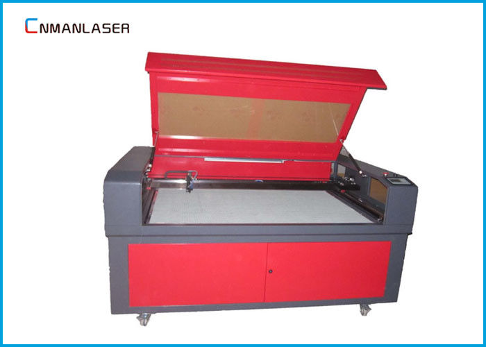Glass Sealed CO2 Cnc Laser Engraving Machine  For Cardboard Wood Cutting