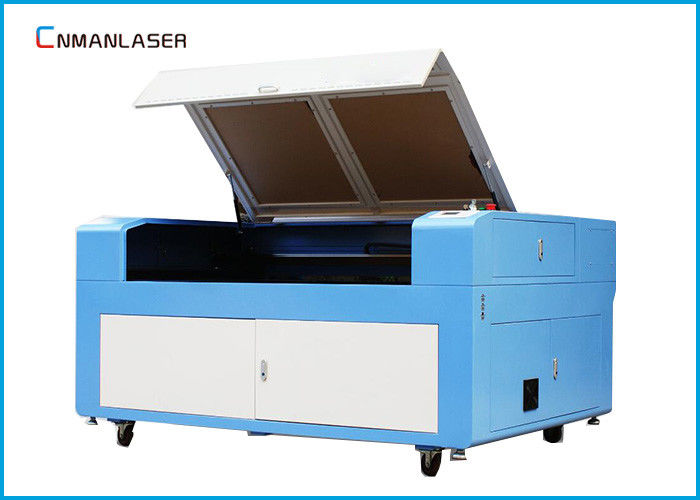 CO2 100w 1390 Metal Nonmetal Wood Laser Cutting Machine With Industrial Chiller