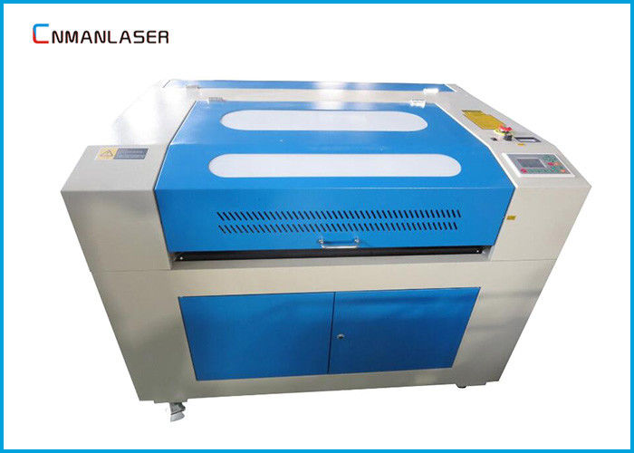 60w Mini Desktop Laser Cutting Machine For Paper / Leather / Acrylic