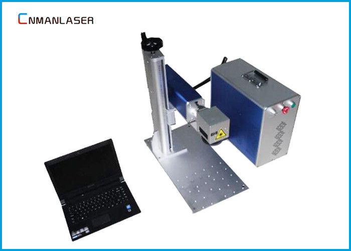 IPG Raycus Industrial Metal Plastic CO2 Laser Marking Machine With Air Cooling