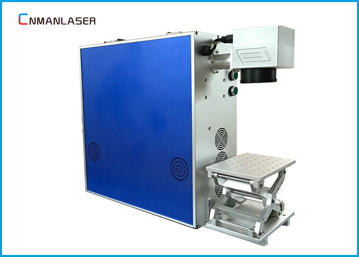 Portable EZCAD Software CO2 Laser Marking Machine With Aluminum Alloy Table Rotary