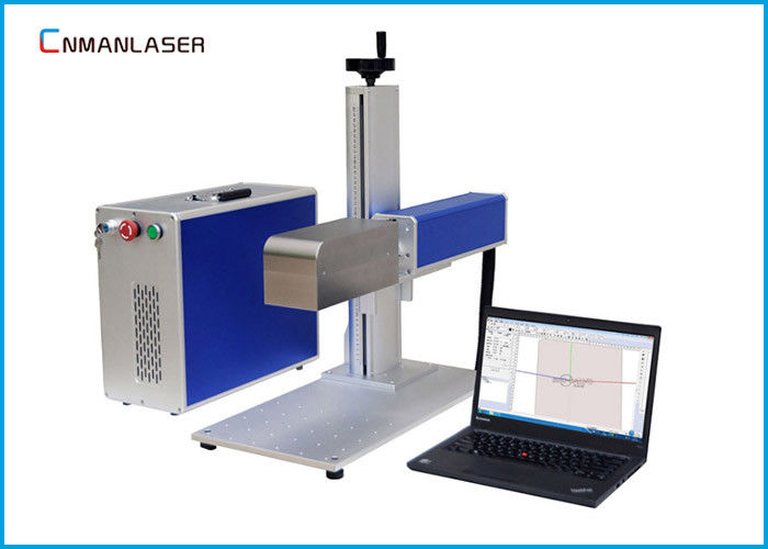 20W Pet Tag Plate Metal Steel Raycus Fiber Laser Marking Machine CE FDA Certification