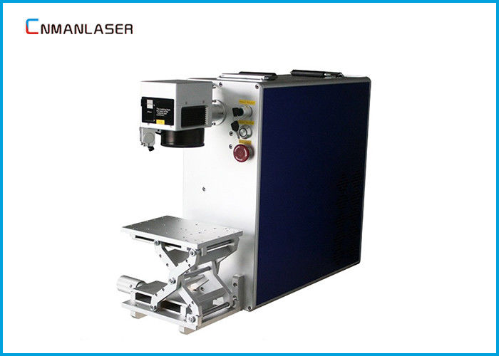 Name Number Logo Label 30W Fiber Laser Marker Machine With SINO