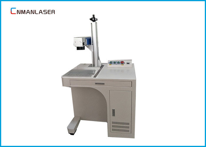 UV Desktop Crystal Metal Laser Marking Machine With Air Cooling System