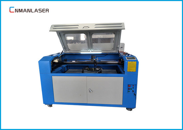 Rug Carpet Textile CNC Laser Engraving Equipment 60w With Motorized Platform
