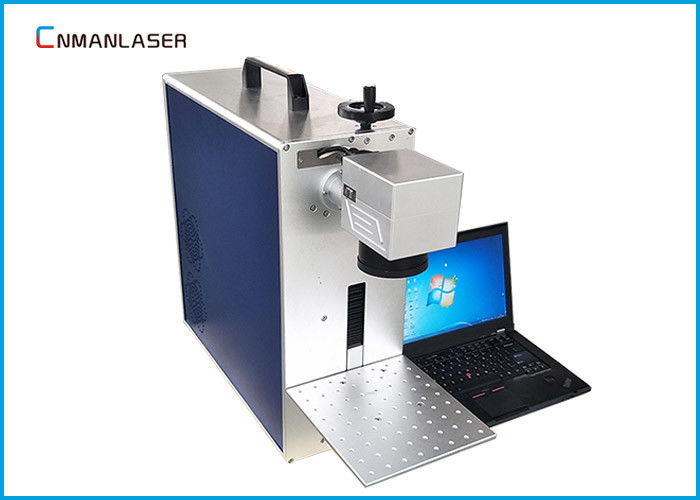 1mm Depth Portable Laser Engraving Marking Machine 30w For Metal Non - Metal , Long Lifetime