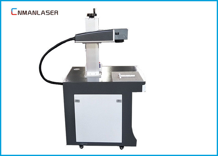 Wood Bamboo Glass Ceramic 30 W Co2 Laser Marking Machine With Galvo