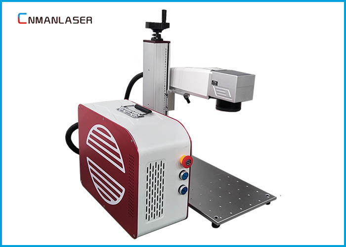 Small Size 20 Watt Fiber Laser Marking Engraving Machine For Packaging Industry