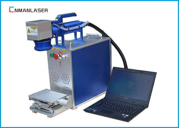 50w Jewelry Silver Gold Brass Metal Small Laser Marker Fiber Cutting Marking Machine