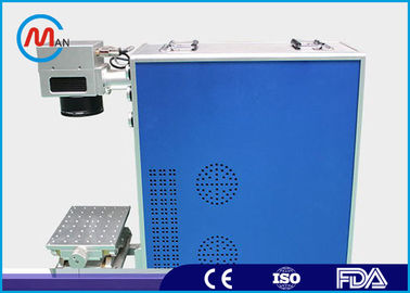China Multifunctional Portable Fiber Laser Marking Machine , 10w Metal Laser Marker factory