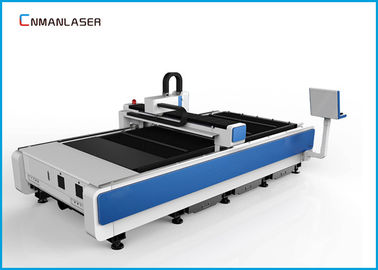 CNC 1530 1000W Cnc Fiber Optic Laser Cutting Machine For Metal , Desktop Laser Cutter