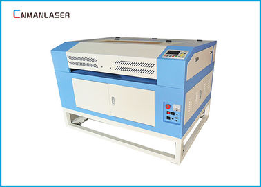 China 80W 100W EFR Laser Tube CO2 Laser Engraving Cutter Machine With Fabric Leather factory