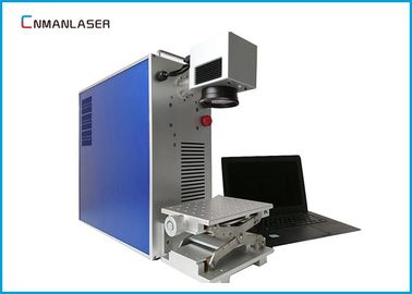 China Original Ezcad Metal Laser Marking Machine , Fiber Color Small Laser Marker For Bearing factory